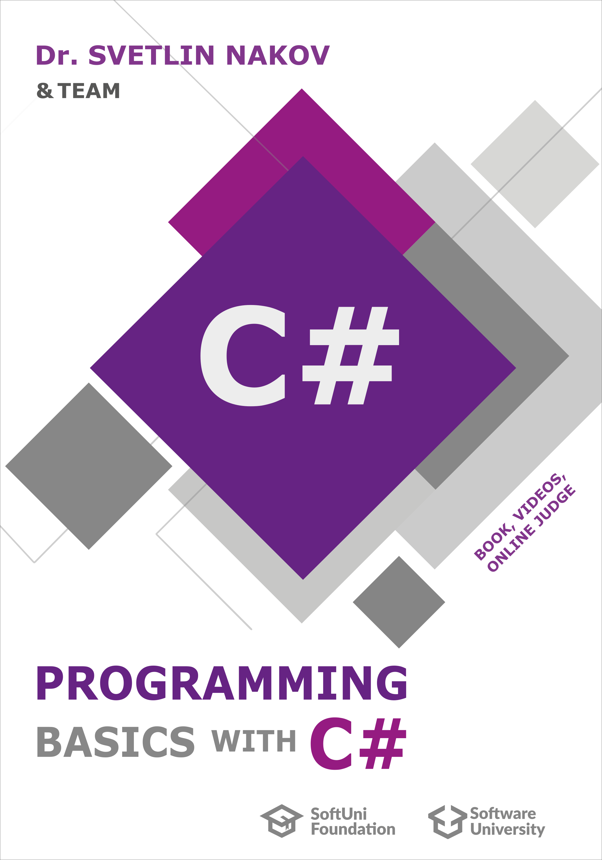 Programming Basics with C# – book cover