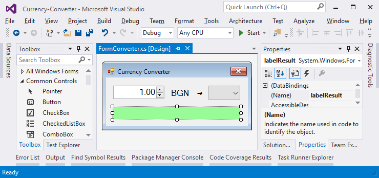 Top Five Currency Converter C# Console Application - Circus